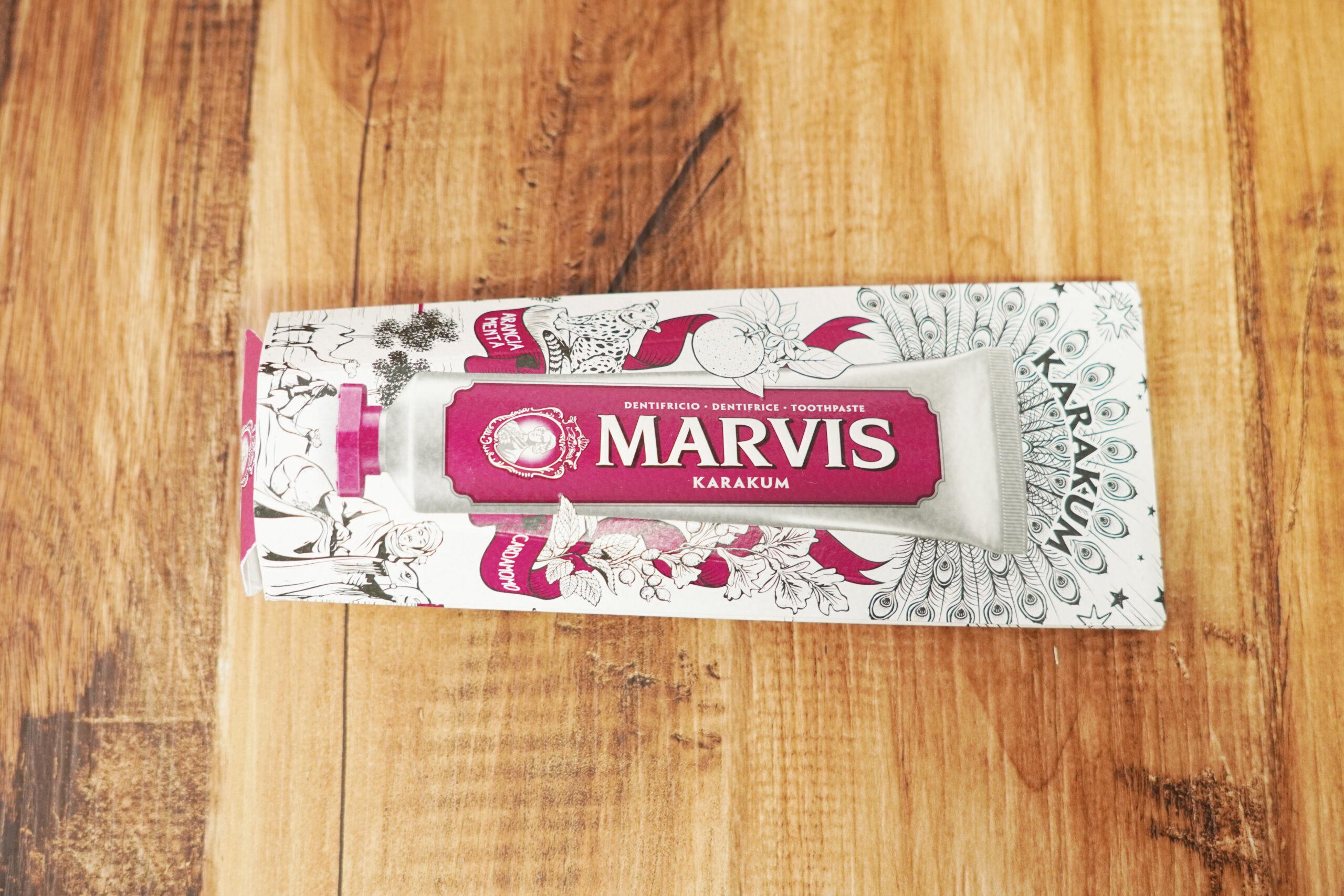 MARVIS(マービス)歯磨き粉 口コミ