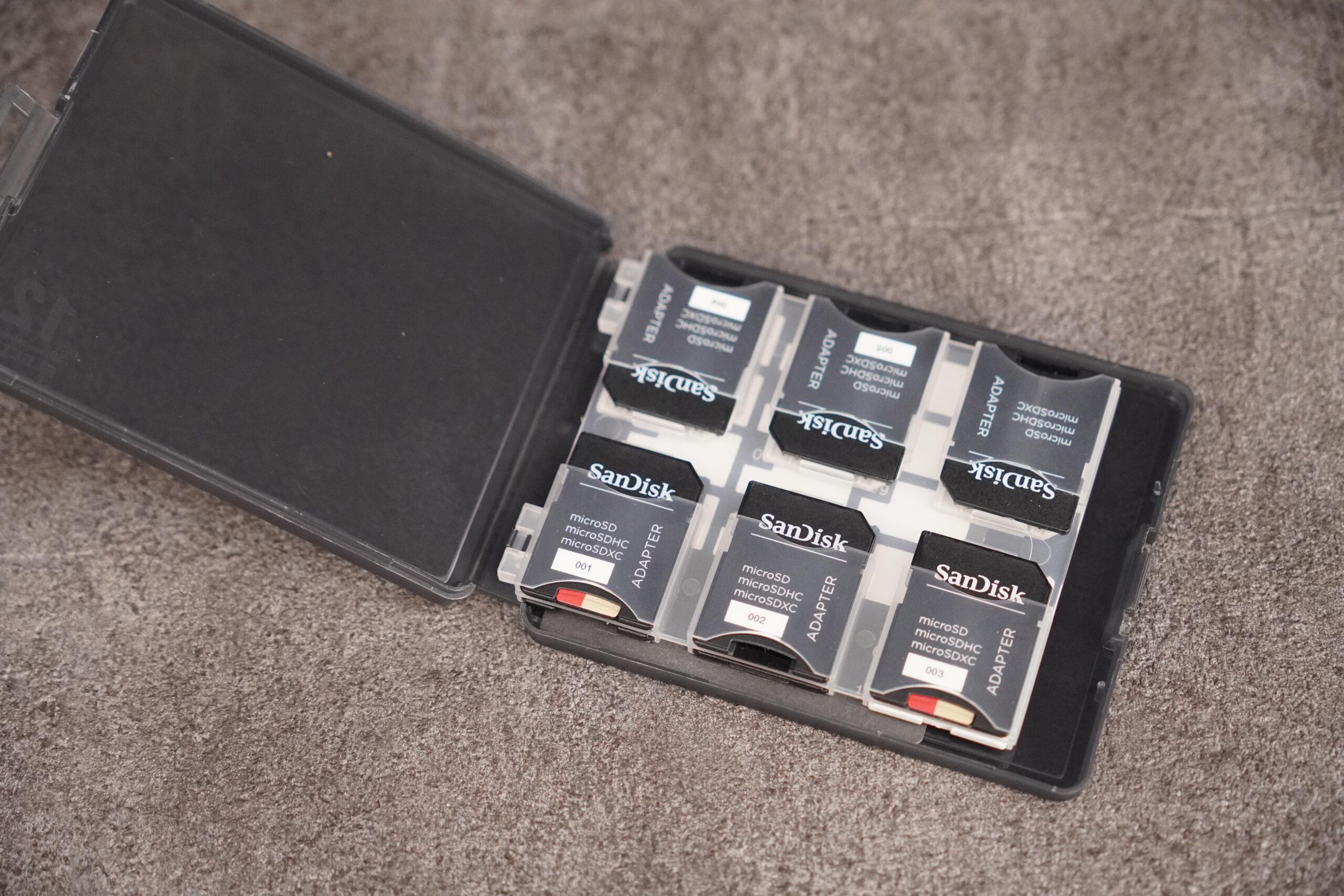 おすすめ エレコム SDケース 12枚収納 SD microSD CMC-06NMC12