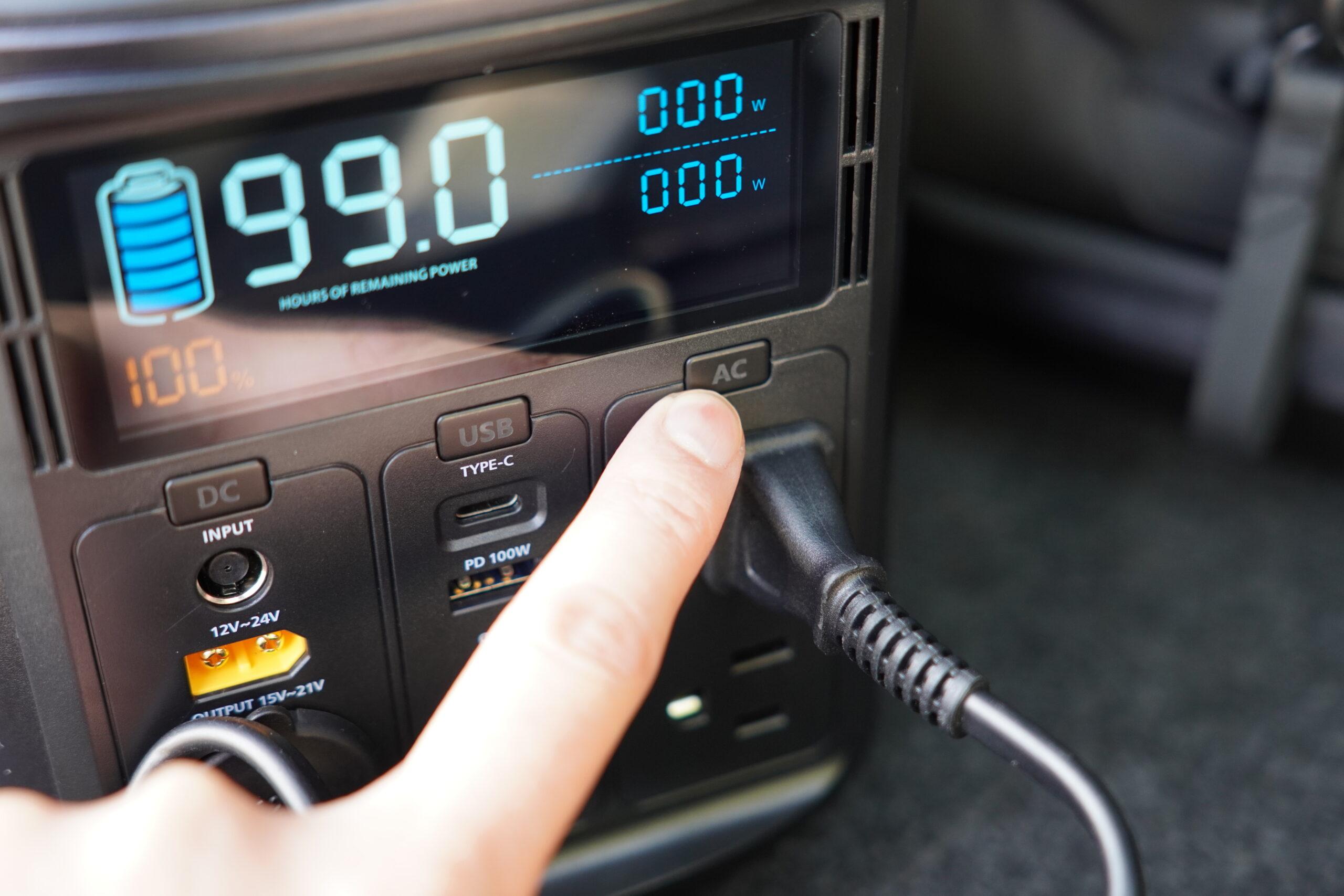 ELECAENTA S600W ドローン充電