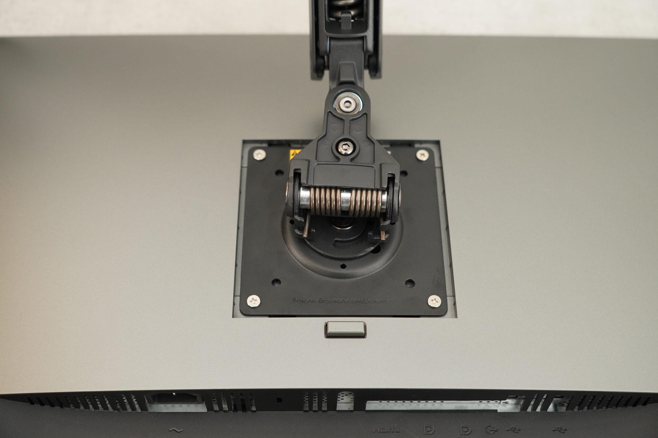 ERGOTRON(エルゴトロン)LX モニターアーム モニター取付