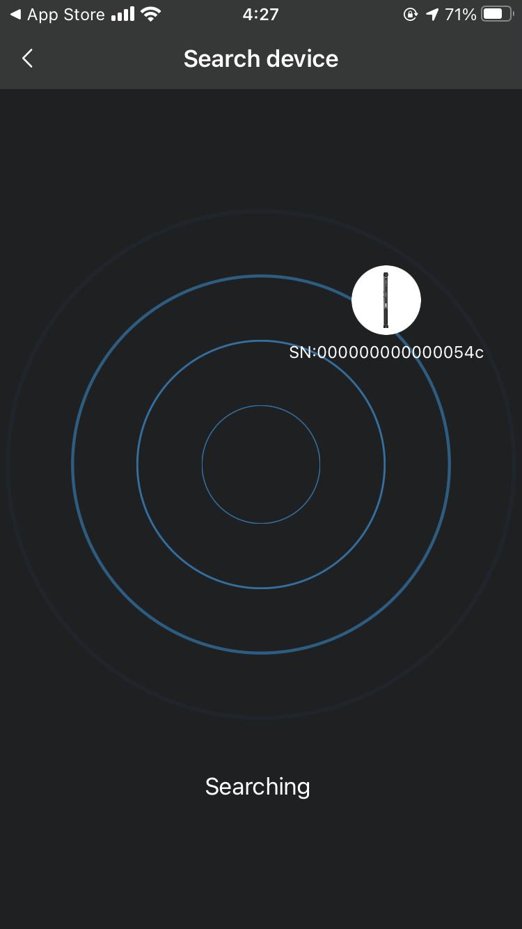 YC Onion Energy Tube アプリコントロール