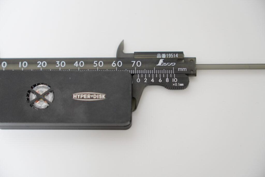 HyperDisk X(ハイパーディスク エックス)本体サイズ