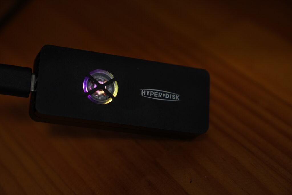 HyperDisk X(ハイパーディスク エックス)SSD 冷却ファン