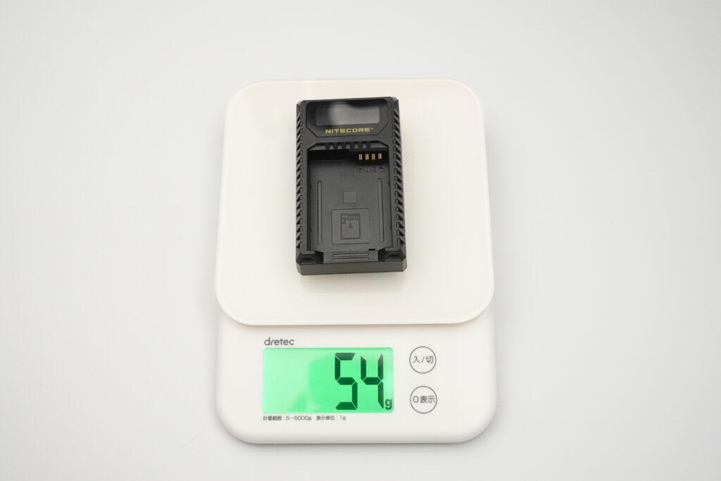 NITECORE ULQ 充電器 重さ
