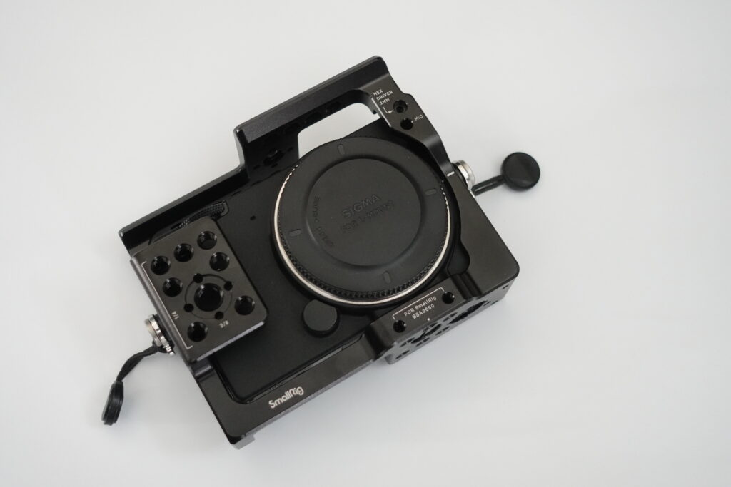 SmallRig製 SIGMA fp カメラケージ
