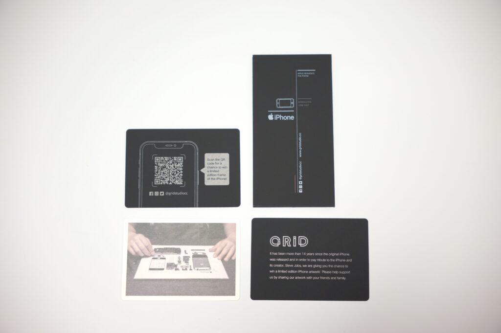 Grid Frame Studio GRID® 4S レビュー 同梱品