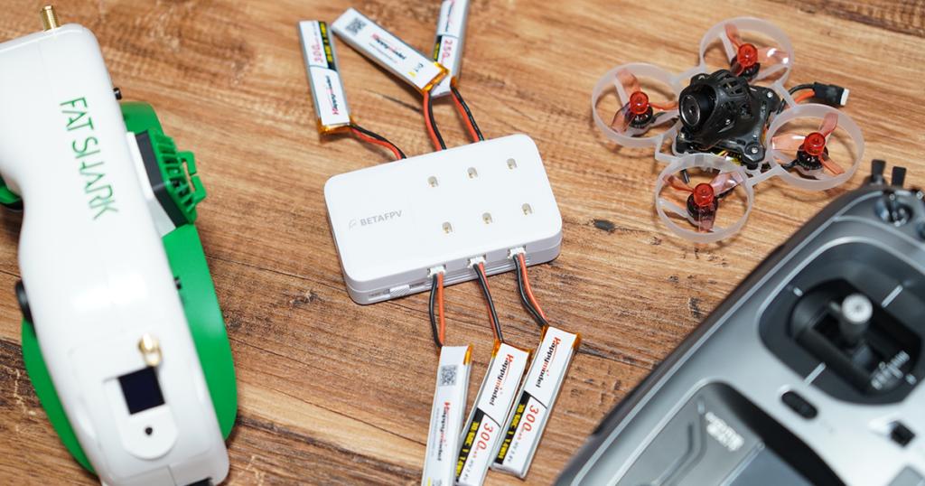 BETAFPV 6ポート1Sバッテリー充電器