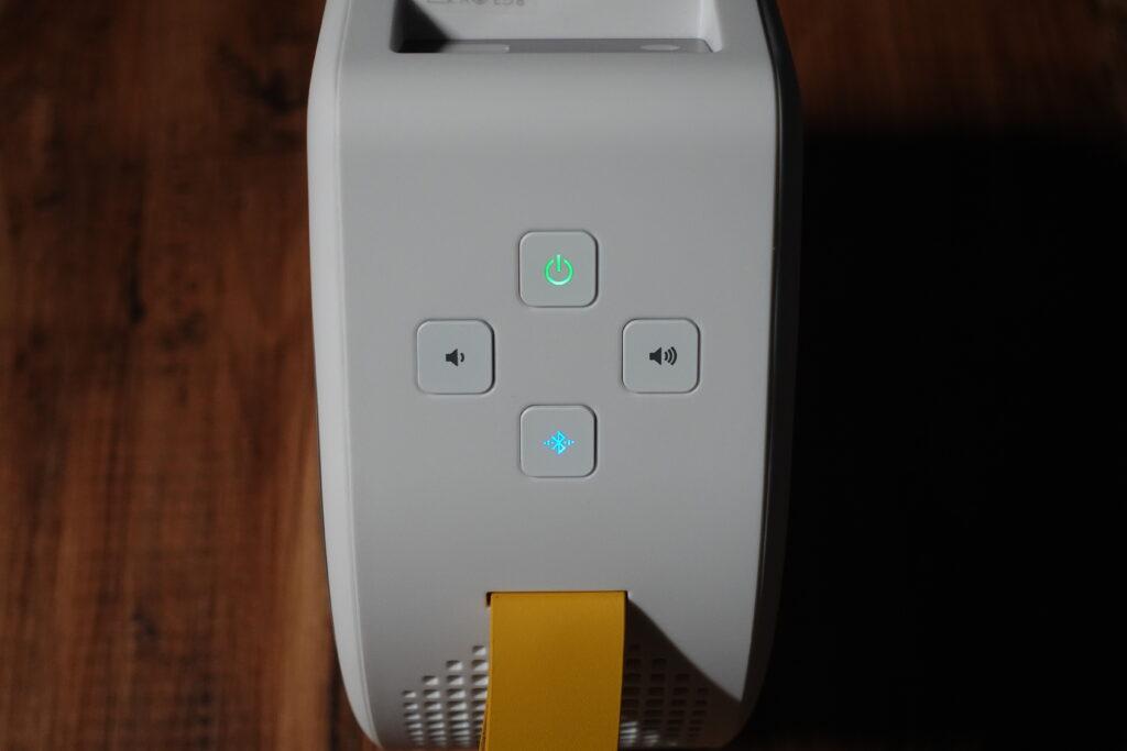 BenQ モバイルプロジェクター GV30 スピーカー
