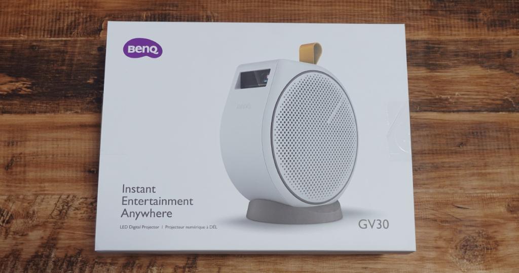 BenQ モバイルプロジェクター GV30 レビュー